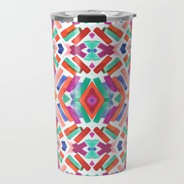 Watercolor Boho Dash 3 Travel Mug