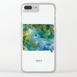 Iowa Clear iPhone Case
