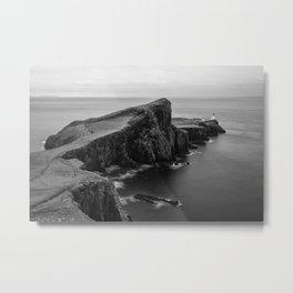 Neist Point Isle of Skye Metal Print
