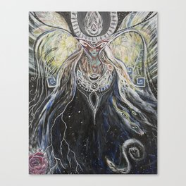 mother of stars Canvas Print