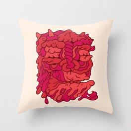 Head No.173 Throw Pillow