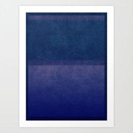 Imagining Rothko #20 Art Print