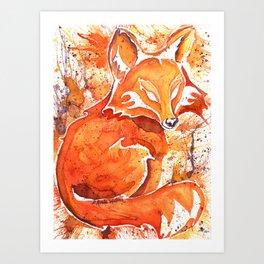Fox (Spirit of the...) Art Print