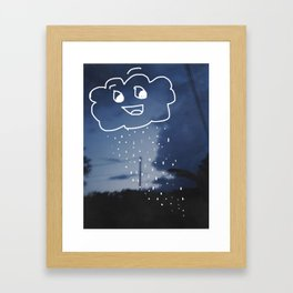 Chance of Rain Framed Art Print