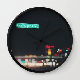 Las Vegas Boulevard ... Wall Clock