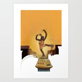Mighty New Yorker Art Print