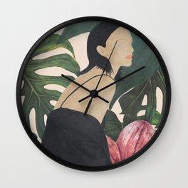My Tropical Garden Wall Clock