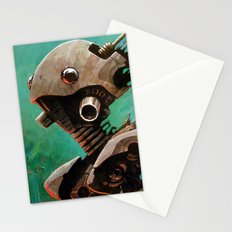 Twin #2 Robot Stationery Cards