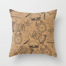Lifestyle Pattern Throw Pillow
