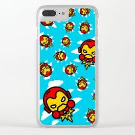 I´m Invincible Clear iPhone Case