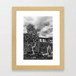 Old Tree in Cill Chriosd Churchyard Framed Art Print