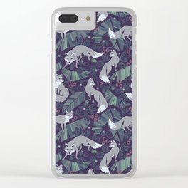 Wolf Tail Clear iPhone Case