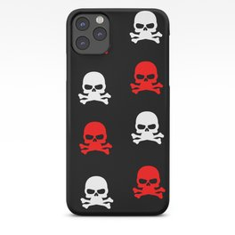 skull pattern iPhone Case
