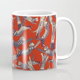 cat party retro Coffee Mug