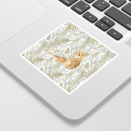 Vintage Cheetah Sticker