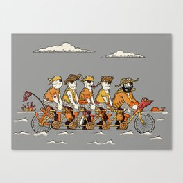 Arrrr We There Yet? Canvas Print