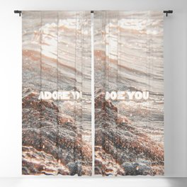 harry - adore you Blackout Curtain