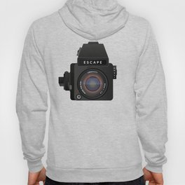 Escape Camera, medium format Hoody