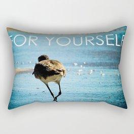 Make Time For Yourself Rectangular Pillow