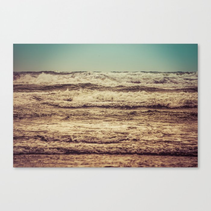 Ocean Crush Canvas Print
