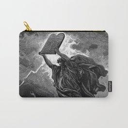 Moses Smashing the Tables of the Law - Dore Carry-All Pouch