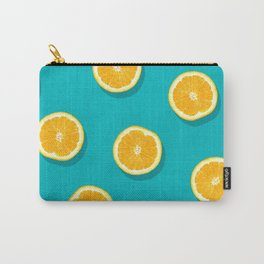 Oranges - Fruit Pattern Carry-All Pouch