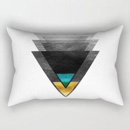 Downbeat Ode to Jazz Modern Minimalism Rectangular Pillow