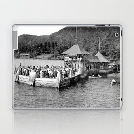 Waiting at Silver Bay (1906) Laptop & iPad Skin