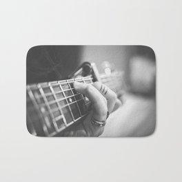 Guitar Musician Bath Mat