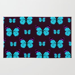 Butterfly Pattern Rug