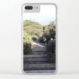 Mt. Tamalpais Steps Clear iPhone Case