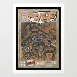 Army of Toys Art Print