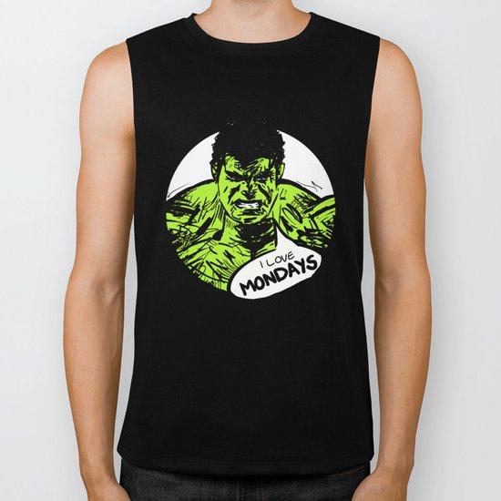 Hulk loves Monday Biker Tank