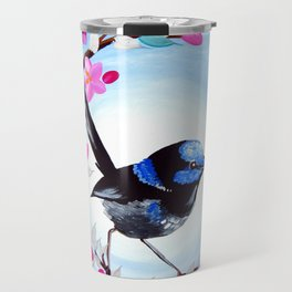 Superb Fairy Wren Travel Mug