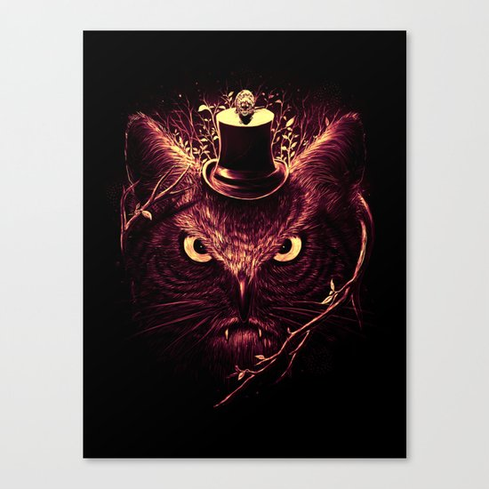 Meowl Canvas Print