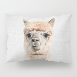 Alpaca - Colorful Pillow Sham