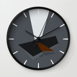 Somber Procrastination Wall Clock