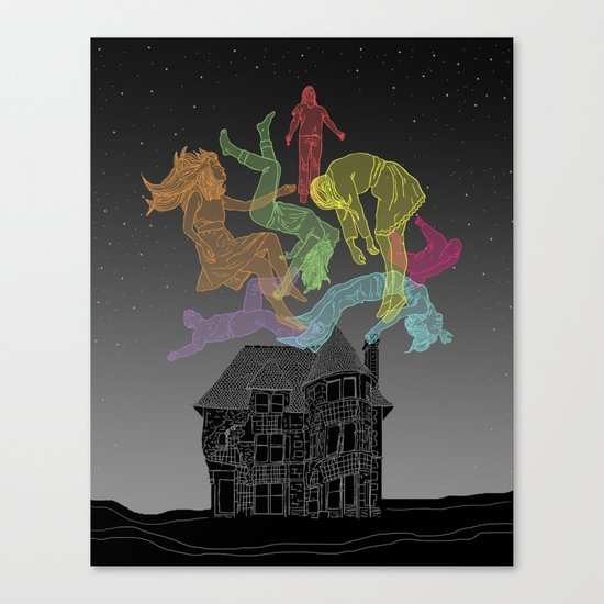 Sleep Paralysis Ball  Canvas Print
