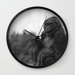 Asante The Western Lowland Gorilla Wall Clock