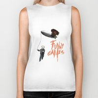 games Biker Tanks featuring Funny Games by inbloom design