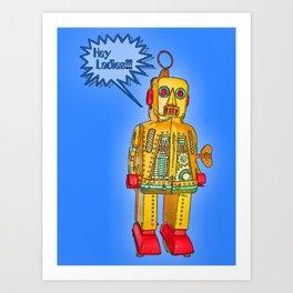 Smooth Robot Art Print