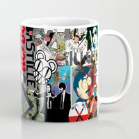 bands Mugs featuring Bands Photobomb by KurtCortis