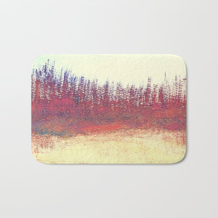 Maritime Lakeshore In Autumn Bath Mat