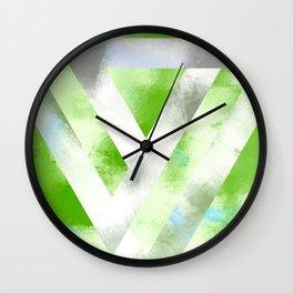Triangle Interlock | Minimalist | Abstract | Modern | Shapes | Geometrix Wall Clock