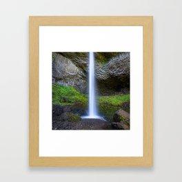 Latourell Falls - Oregon Framed Art Print