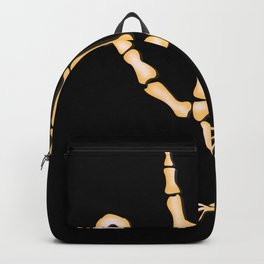 Bone TurkeyHand skeleton Backpack