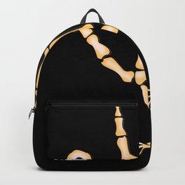 Bone TurkeyHand skeleton Backpack