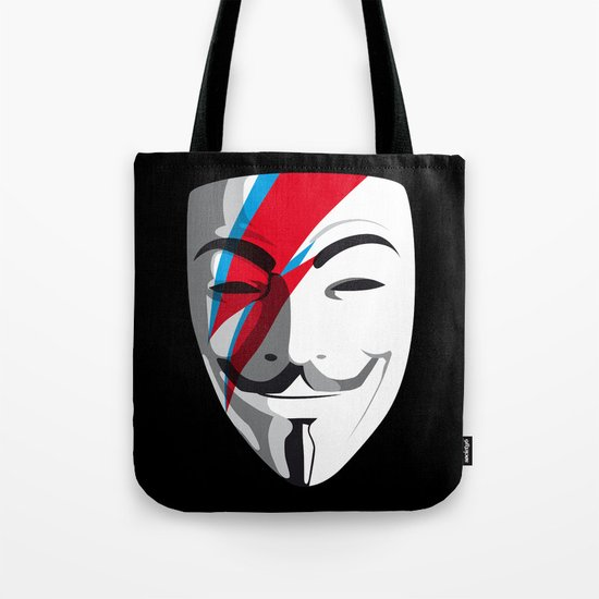 Who wants to be Anonymous? Let's be Fabulous! Viggy Starfawkes. Tote Bag