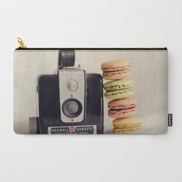 A Brownie and some macarons Carry-All Pouch