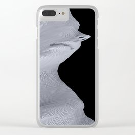 Twister Two Clear iPhone Case